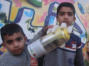 PALESTINE GRAFFITI WORKSHOPS