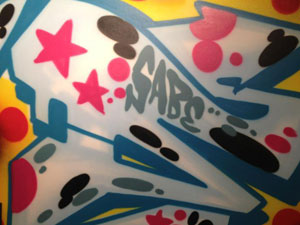 TOMORROW: SABE AT MAKE YOUR MARK