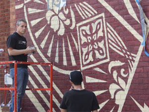 SHEPARD FAIREY INTERVIEWED IN NYC