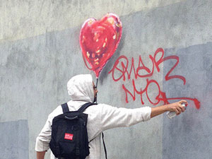 GRAFFITI WRITERS VS BANKSY