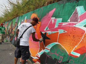 'BACK TO THE STYLE' JAM'S WALL
