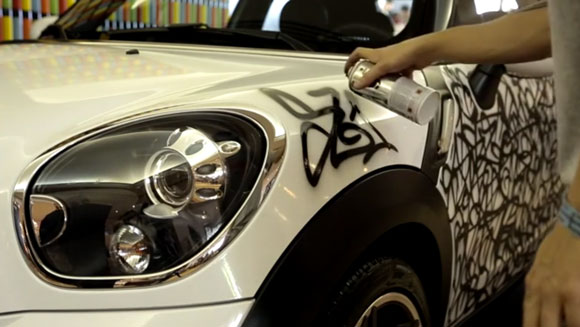 Sliks_graffiti_montana_colors_mini_cooper