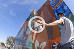 CUTCOLLECTIVE: WALL PROJECT IN AUCKLAND