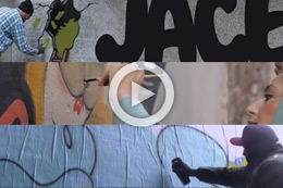 FRENCH URBAN ART: THREE VIDEOS