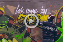KAOS & OGRE, 'WE CAME IN GREENPEACE'