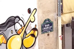 RIME, HOMAGE IN PARIS