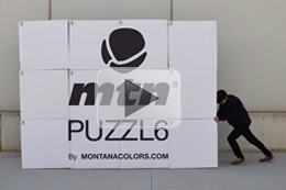 "MTN PUZZL6 ""IT´S NOT A BOX, IT´S AN IDEA"""