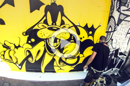 """GRAFFITI FEVER"" EN TOULOUSE"