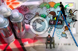 INTERACTIVE ANIMATED GRAFFITI