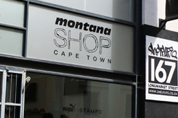 MONTANA SHOP CAPE TOWN (SOUTH AFRICA)