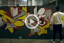 STREETFIRE GRAFFITI BATTLE, CHES FT. HEY PO