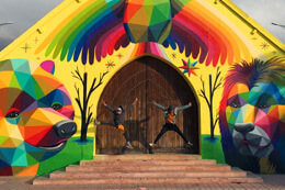 OKUDA'S NEW CHURCH IN MOROCCO