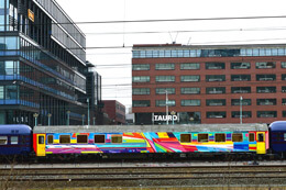 KENOR TRAIN IN AMSTERDAM