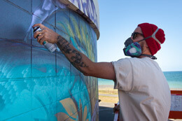 """SEA WALLS: MURALS FOR OCEANS"""