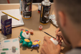 WUZONE X KIDROBOT WORKSHOP AT DELIMBO