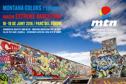 MONTANA COLORS AT IMAGIN EXTREME BARCELONA 2016