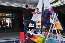 OKUDA & REMED, 'STREET OF COLOUR' IN SOPOT (POLAND)