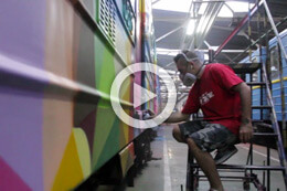 OKUDA ON KIEV'S METRO, THE VIDEO