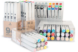NEW 94 GRAPHIC MARKERS PACKS