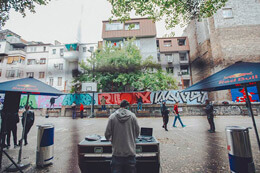 'UNITED COLORS OF BELGRADE' GRAFFITI JAM