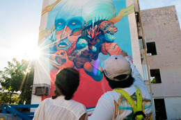 'SEA WALLS: MURALS FOR OCEANS' IN CANCUN