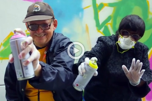 SENIOR GRAFFITI WORKSHOP IN SAN FRANCISCO