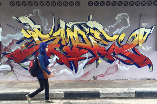 ASMOE, FIRST CLASS WILDSTYLE IN MALAYSIA