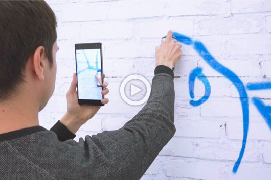 SKETCHAR, THE APP WHICH LETS YOU TRACE YOUR SKETCHES ON TO THE WALL