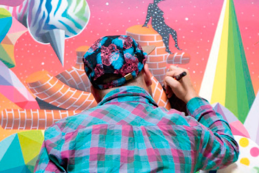 THE FIRST EXHIBITION BY OKUDA IN PARIS