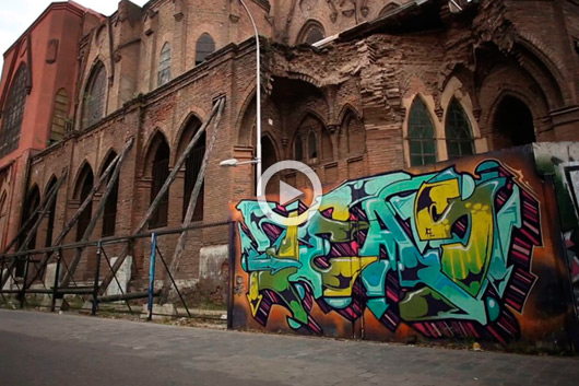 TEAS: 'GRAFFITI IS AN ESCAPE FROM ALL THE ROUTINES'
