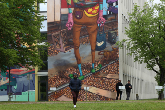 OS GEMEOS & ARYZ IN MUNICH