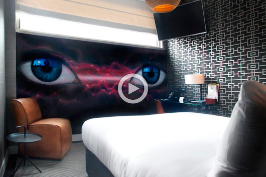 """HILTON ART ROOMS"", IMPRESIONANTES OBRAS INTERIORES"
