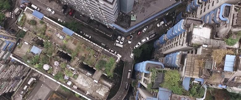 Chongqing city drone view by German Rigol