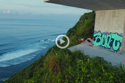 'THE GREAT ESCAPE', BUNT CREW IN BALI