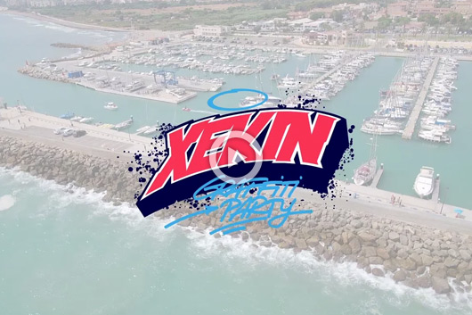 XEKIN '14, GRAFFITI PARTY EN EL MAR