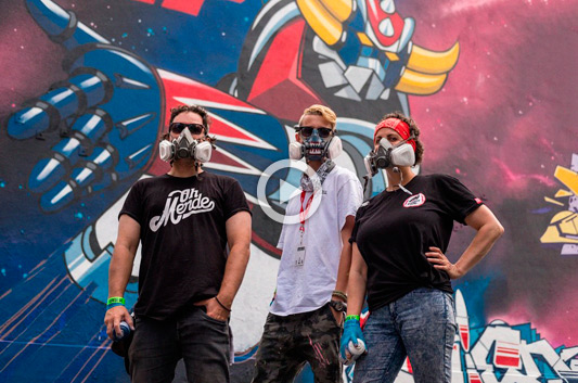 123KLAN X UNDER PRESSURE 2017, EL VÍDEO