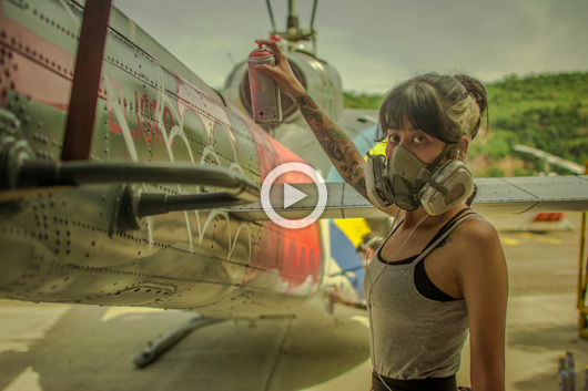 CEROKER & MUGRE DIAMANTE'S HELICOPTER, THE VIDEO