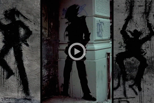 """SHADOWMAN"" DIES, THE FORGOTTEN FATHER OF STREET ART"