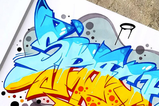 "EL ""SPACE GRAFFITI SKETCH CONTEST"" SE ACERCA A SU FINAL"