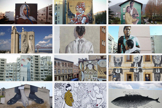 FIND OUT THE 12 FINALISTS FOR THE SANT FELIU MURAL OPEN CALL