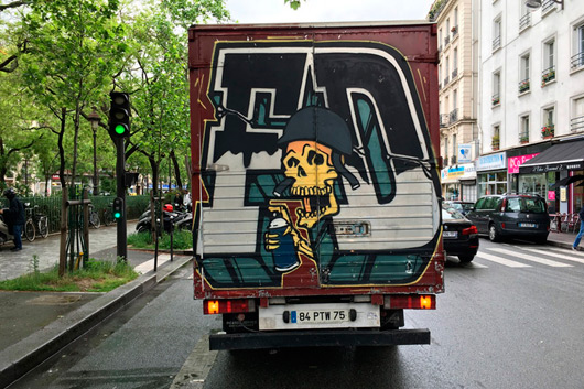 ARE FD THE TRUCK KINGS IN PARIS?