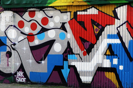MASTER WALL IN EAST LONDON