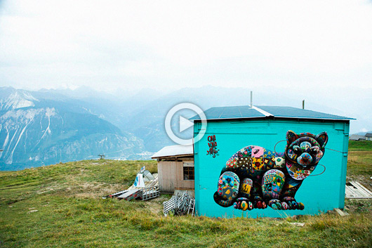 URBAN ALPINE ART FROM SWITZERLAND
