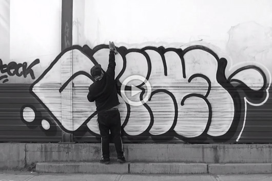 AMAZING STREET BOMBING BY NIKE OTEK