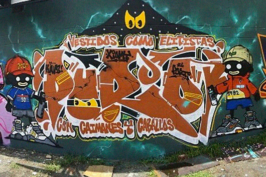 PURO KAVS, THE SPEARHEAD OF THE NEW COLOMBIAN GRAFFITI