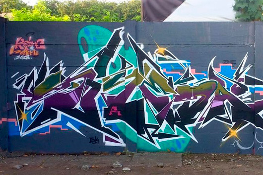 DASKE, WILDSTYLE IN INDONESIA