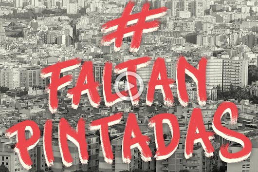 #FALTANPINTADAS; URBAN ARTISTS CALL FOR ACTION IN THE STREETS