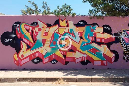 'MAGNETIC ISLAND', TATTO & GRAFFITI IN IBIZA