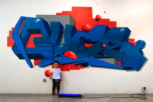 FIXE: 20 YEARS OF GRAFFITI IN ONE EXHIBITION