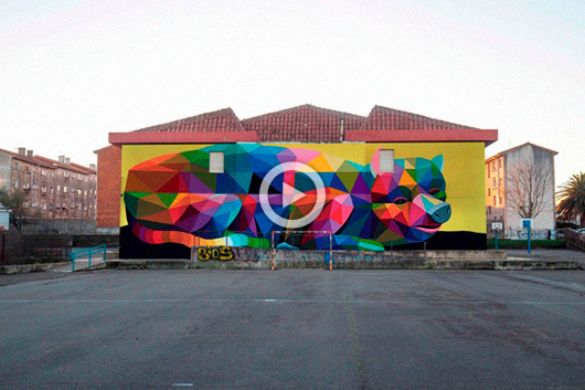 WITH YOUR HELP OKUDA CAN TRANSFORM A SCHOOL INTO AN ART PIECE